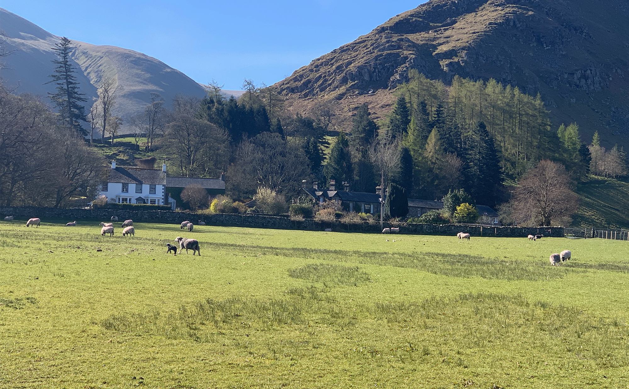 Howtown Hotel on the shores of Ullswater